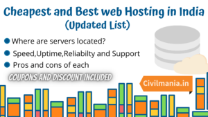 Cheapest and best web hosting in India